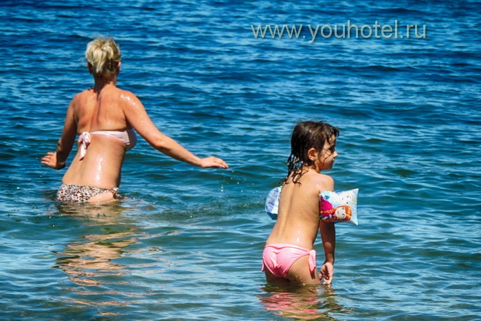 "Анапа пляж ""Высокий берег"" море"