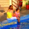 """Витязево гостевой дом """"Золотое руно"""" дети возле бассейна"""