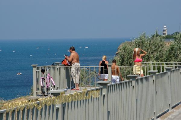 Анапа спуск к пляжу с ул. Трудящихся Анапа спуск к пляжу с ул. Трудящихся