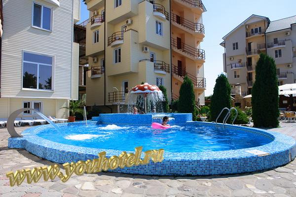 """Витязево гостевой дом """"Золотое руно"""" бассейн"""